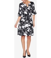 ruby rd. plus size drs bar wildflower dress