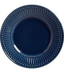 prato sobremesa roma deep blue 6 peças porto brasil