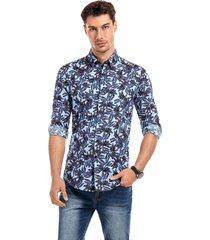 camisa beymac  multicolor new man
