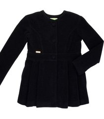 casaco lã alfaiataria gingga baby e kids preto juliette