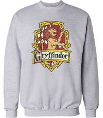 gryffindor #2 crest unisex crewneck sweatshirt / sweater light steel