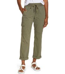 l.l.bean vista ripstop camp pants, size x-large in dusty olive at nordstrom