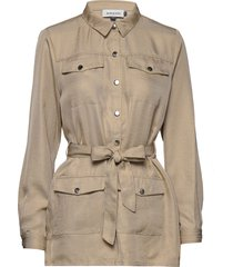 dhvera jacket outerwear jackets utility jackets beige denim hunter