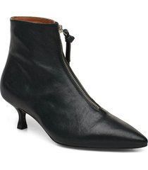 booties 3342 shoes boots ankle boots ankle boot - heel svart billi bi