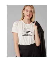 amaro feminino t-shirt between saturday and sunday, off-white
