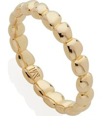 gold nura teardrop eternity ring