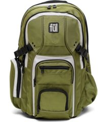 "ful tman laptop backpack, 17"" laptop pocket"
