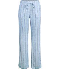 striped lounge pants