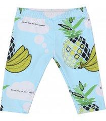 legginsy krótkie owoce