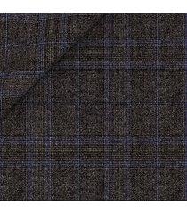 pantaloni da uomo su misura, reda, 150's grigi principe di galles, quattro stagioni | lanieri