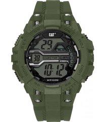 reloj bolt digital verde oscuro cat