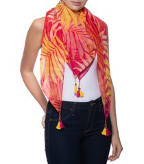 inc tropical ombre square scarf, created for macy's