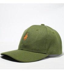 gorra verde wellington polo club