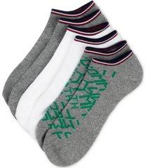 tommy hilfiger men's 6-pk. logo athletic no-show socks