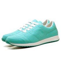 tênis sapatênis casual elegant feminino dubuy 1102-1103la verde