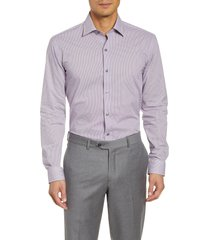 men's bugatchi trim fit dress shirt