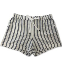 style & co striped shorts, created for macy's