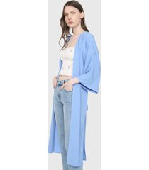kimono  azul forever 21