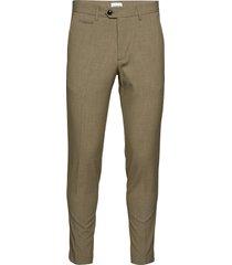 club pants kostymbyxor formella byxor grön lindbergh