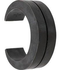 parts of four crescent crevice v2 30mm bracelet - grey