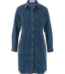 abito in velluto elasticizzato (blu) - john baner jeanswear