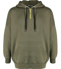 vertical logo relaxed hoodie