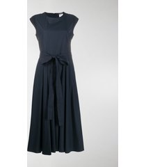 's max mara belted midi dress
