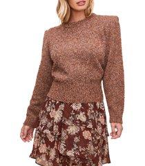 women's astr the label caroline boucle sweater