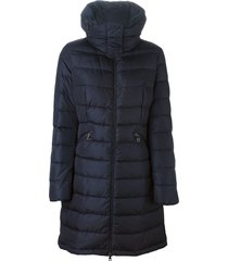 moncler flamette padded coat - blue