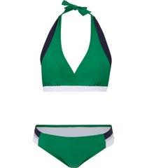 bikini all''americana (set 2 pezzi) (verde) - bpc bonprix collection