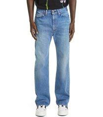 men's valentino x levi's 517(tm) 1969 re-edition bootcut jeans, size 30 - blue