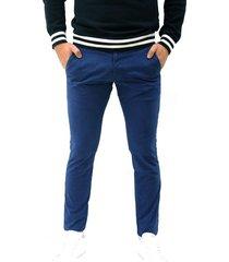 pantalon casual azul scout 87 pant atlantic