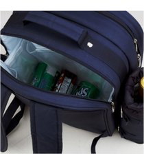 picnic at ascot deluxe 2 person picnic backpack cooler with insulated wine pouch