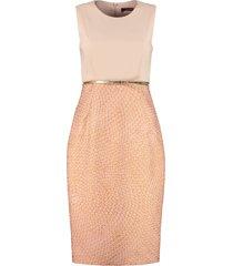 max mara studio aguzze sheath dress
