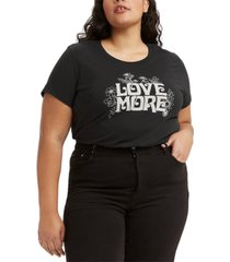 levi's plus size graphic t-shirt