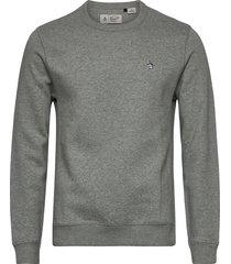 small logo sweatshirt sweat-shirt tröja grå original penguin