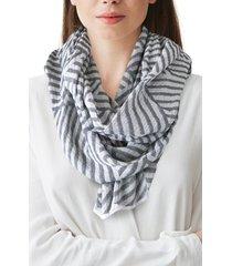 women's nicoletta rosi yarn dyed stripe scarf