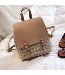 mochila de mujer/ kawaii mini mochila escolar mujer tejiendo