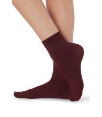 calzedonia 50 denier soft touch socks woman red size tu