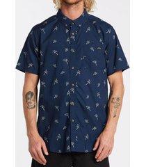 camisa m/c sundays mini ss azul marino hombre billabong