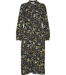 dhlivia dress knälång klänning multi/mönstrad denim hunter