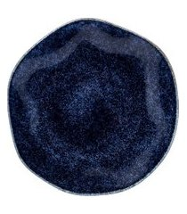 conjunto 6 pratos rasos oxford 92424 ryo safira 27,5cm azul