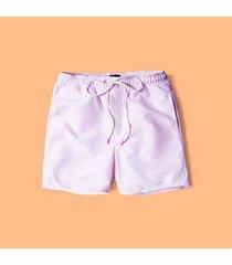 pantalóneta de baño para hombre - rosado