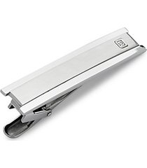crystal and stainless steel tie bar