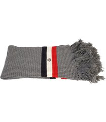 moncler virgin wool and cashmere scarf