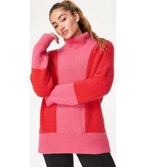 elemental wool roll neck jumper