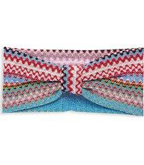 missoni women's multicolored chevron headband