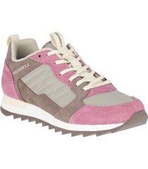 zapatilla alpine sneaker fucsia merrell