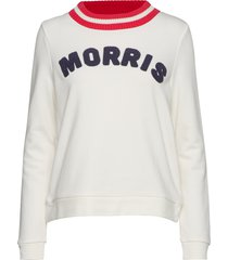 corrine sweatshirt sweat-shirt tröja vit morris lady