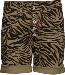 5b shorts zebra shorts flowy shorts/casual shorts brun please jeans